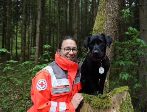 Beruf: geprüfter Flächensuchhund im BRK Rettungshundestaffel Traunstein